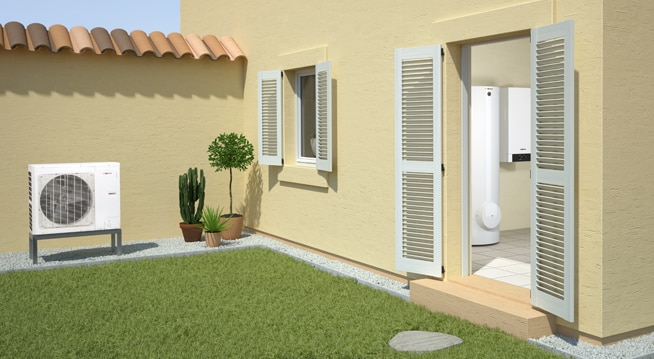 Split Tipi Hava Su Isı Pompası Vitocal 100-S